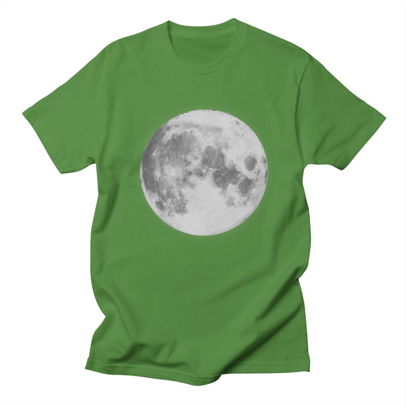 The Moon Men's Regular T-Shirt by foxandeagle's Artist Shop