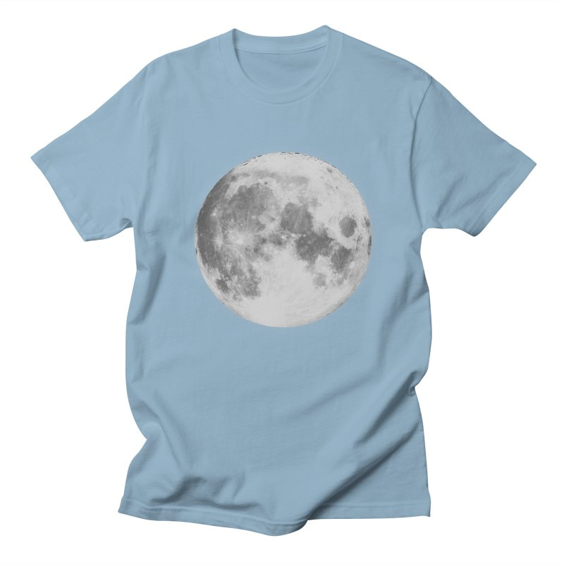 The Moon Women's Regular Unisex T-Shirt by foxandeagle's Artist Shop