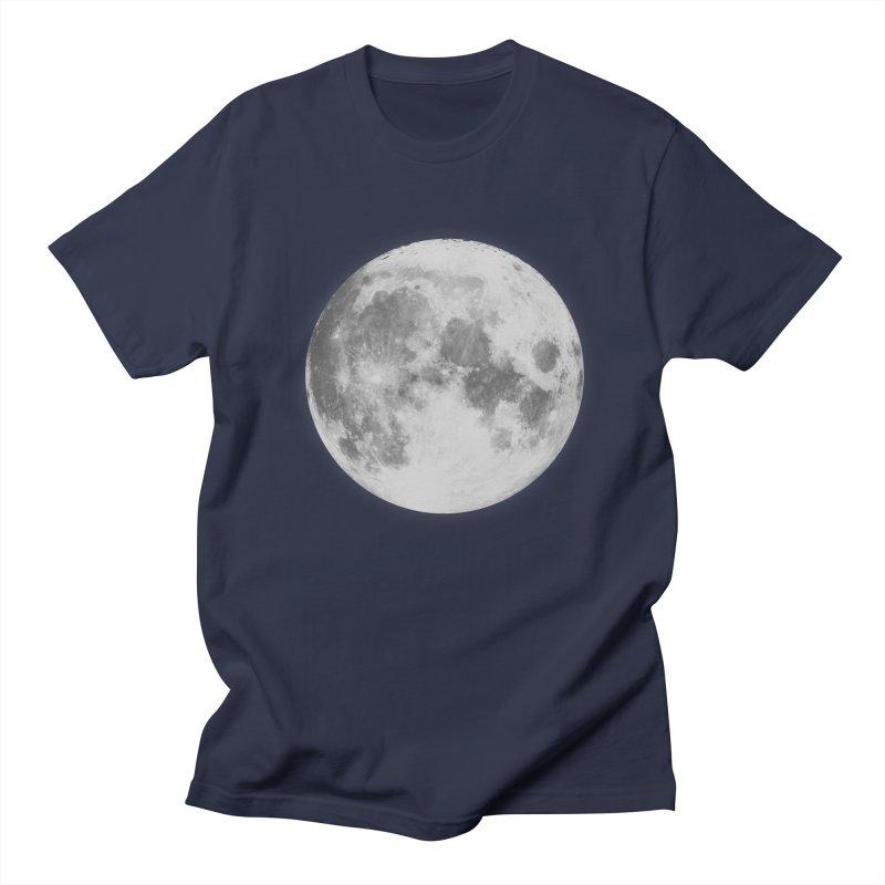 The Moon Women's Regular Unisex T-Shirt by foxandeagle's Artist Shop