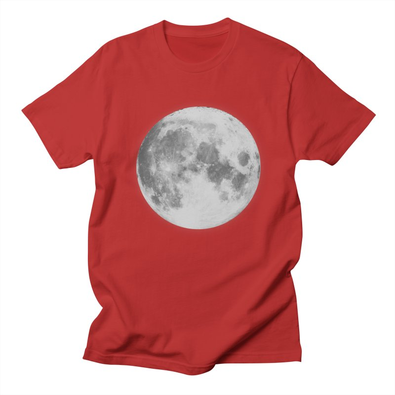 The Moon Men's T-shirt by foxandeagle's Artist Shop