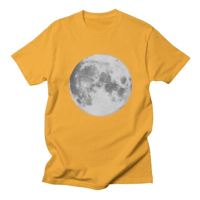 The Moon Men's Regular T-Shirt by foxandeagle's Artist Shop
