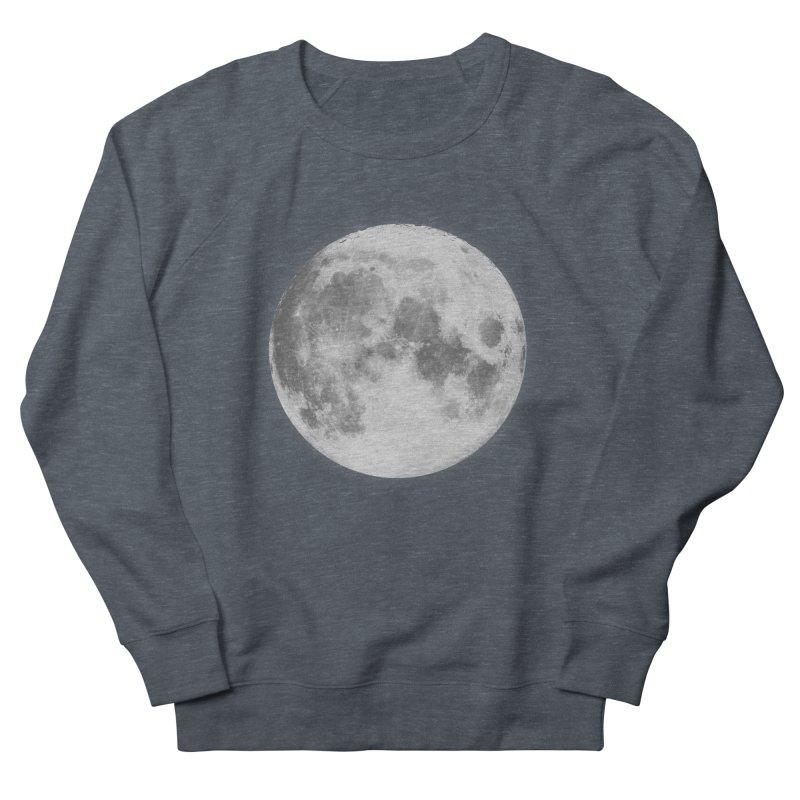 The Moon Women's Sweatshirt by foxandeagle's Artist Shop
