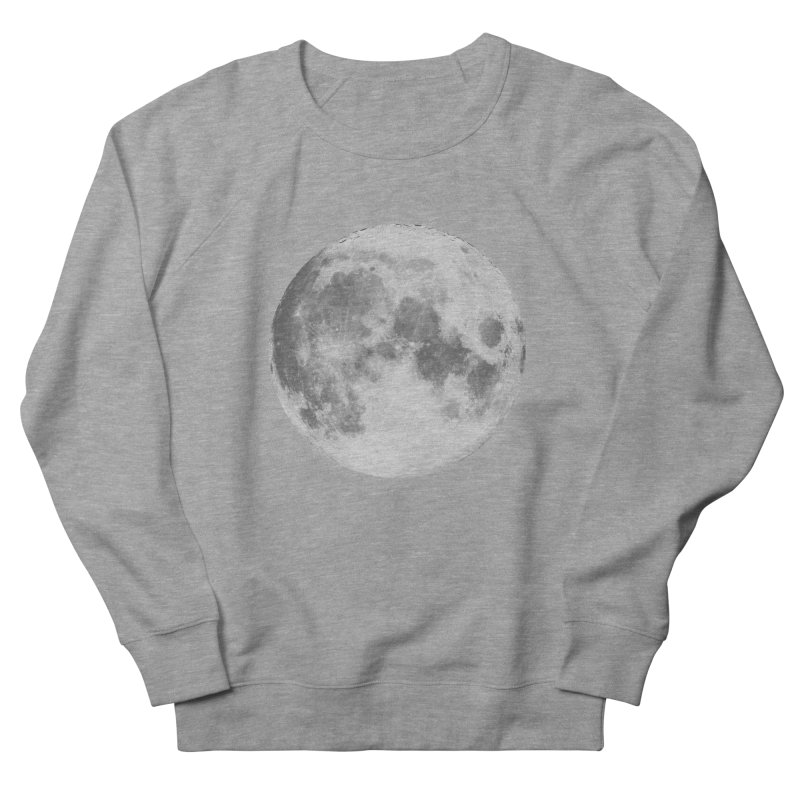 The Moon Women's French Terry Sweatshirt by foxandeagle's Artist Shop