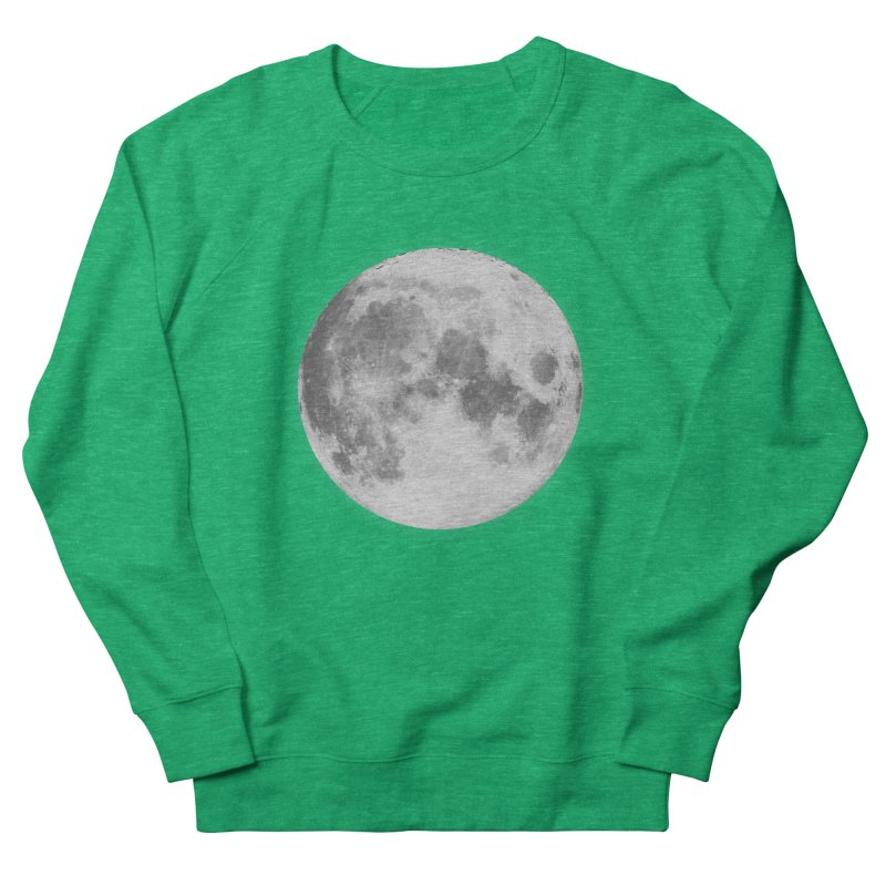 The Moon Men's French Terry Sweatshirt by foxandeagle's Artist Shop