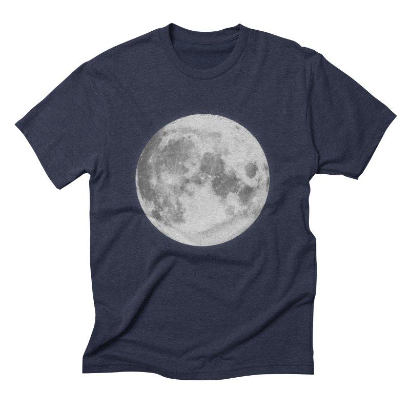 The Moon Men's Triblend T-Shirt by foxandeagle's Artist Shop