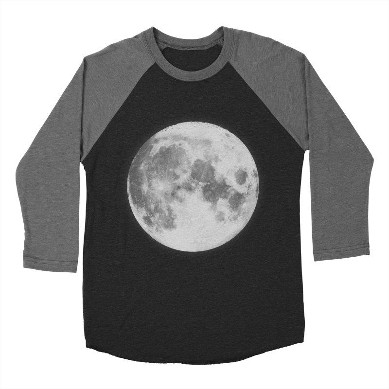 The Moon Men's Baseball Triblend T-Shirt by foxandeagle's Artist Shop