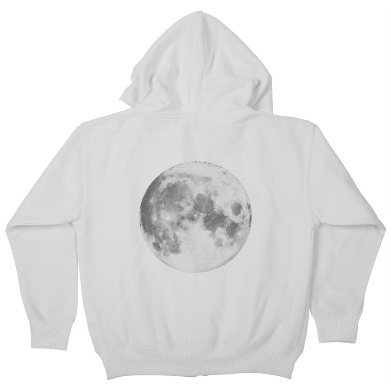 The Moon Kids Zip-Up Hoody by foxandeagle's Artist Shop