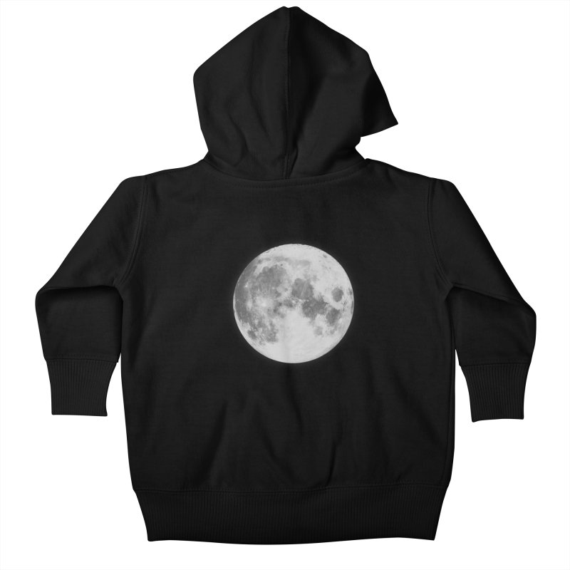 The Moon Kids Baby Zip-Up Hoody by foxandeagle's Artist Shop