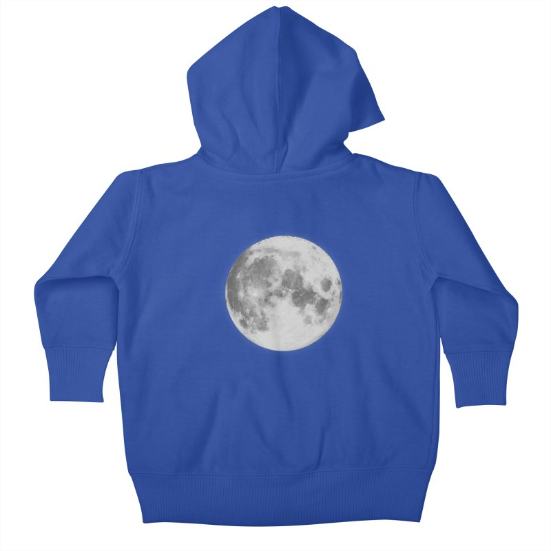 The Moon Kids Baby Zip-Up Hoody by foxandeagle's Artist Shop