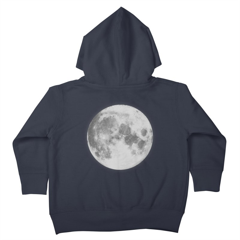 The Moon Kids Toddler Zip-Up Hoody by foxandeagle's Artist Shop
