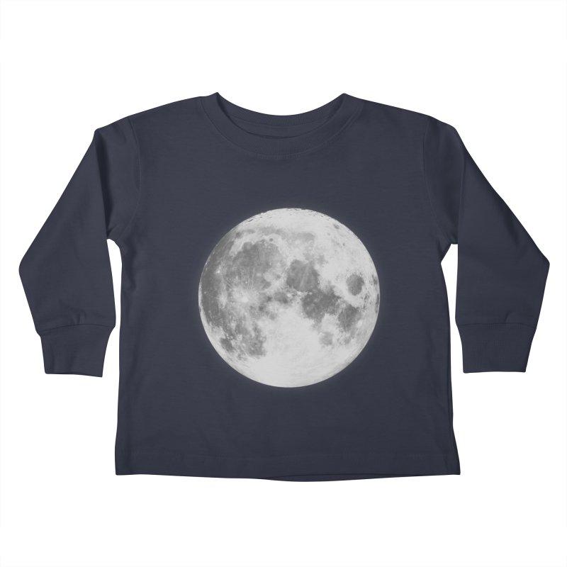 The Moon Kids Toddler Longsleeve T-Shirt by foxandeagle's Artist Shop