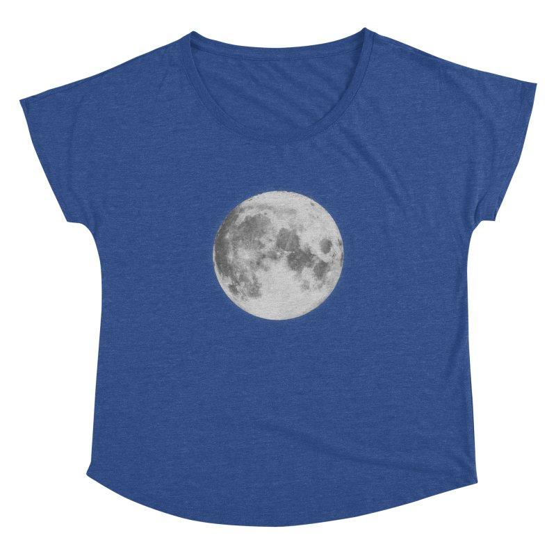 The Moon Women's Dolman by foxandeagle's Artist Shop