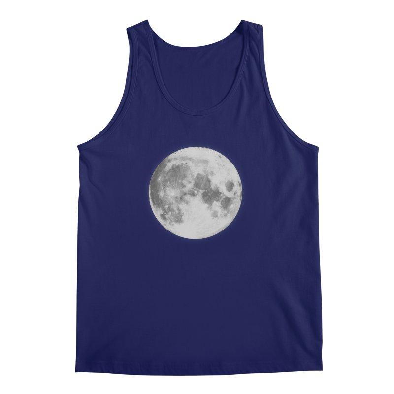 The Moon Men's Regular Tank by foxandeagle's Artist Shop