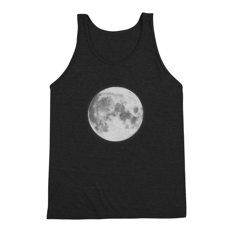 The Moon Men's Triblend Tank by foxandeagle's Artist Shop