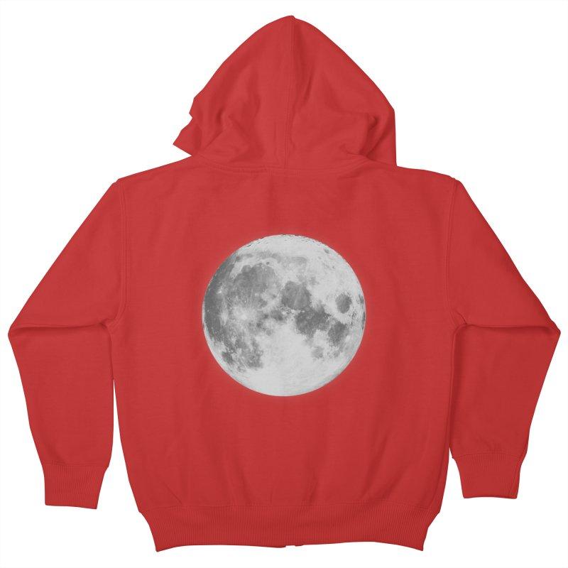 The Moon Kids Zip-Up Hoody by foxandeagle's Artist Shop