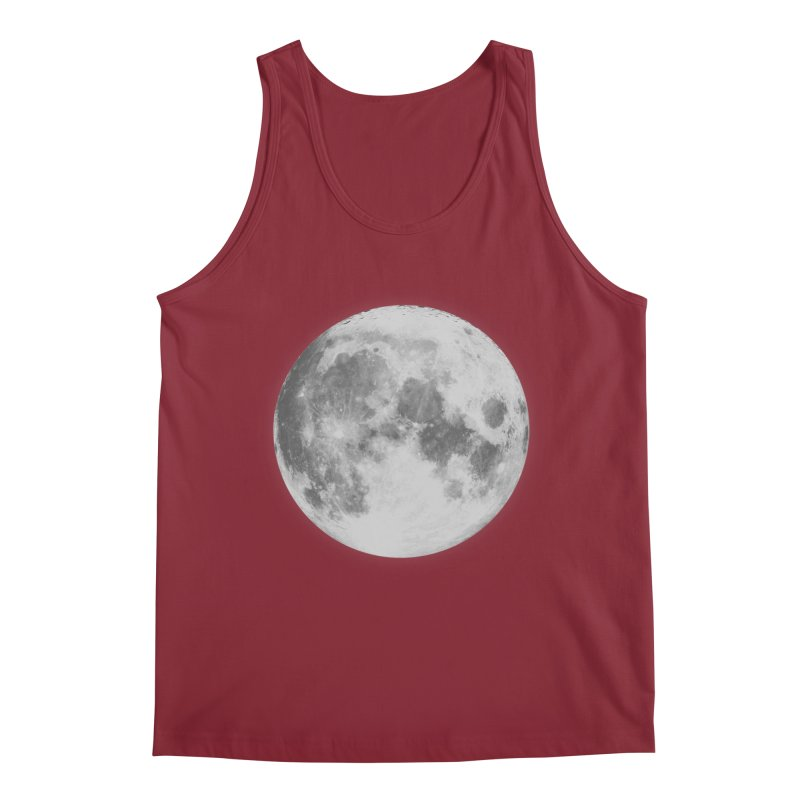 The Moon Men's Regular Tank by foxandeagle's Artist Shop