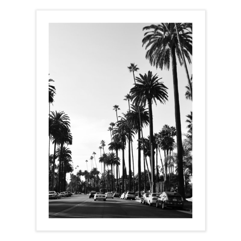 Los Angeles Home Fine Art Print by foxandeagle's Artist Shop