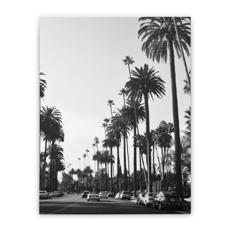 Los Angeles Home Stretched Canvas by foxandeagle's Artist Shop