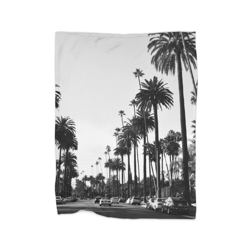 Los Angeles Home Blanket by foxandeagle's Artist Shop