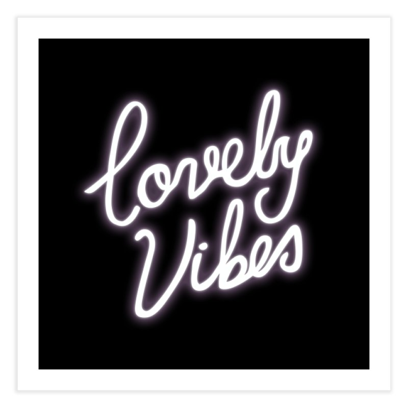 Lovely Vibes Home Fine Art Print by foxandeagle's Artist Shop