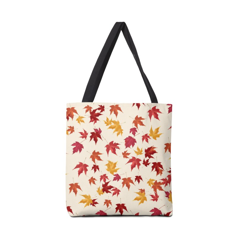Fall Leaves Accessories Bag by foxandeagle's Artist Shop