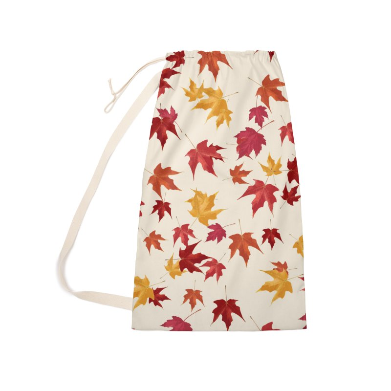 Fall Leaves Accessories Laundry Bag Bag by foxandeagle's Artist Shop