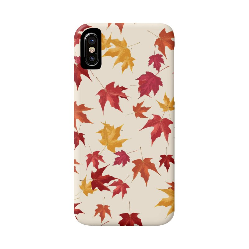 Fall Leaves Accessories Phone Case by foxandeagle's Artist Shop