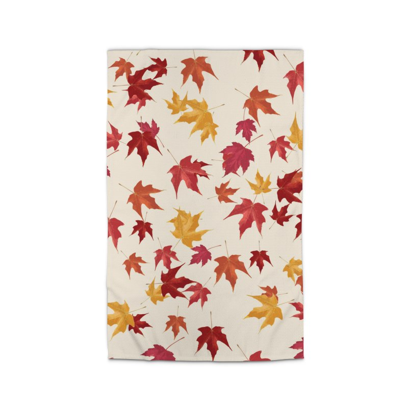 Fall Leaves Home Rug by foxandeagle's Artist Shop