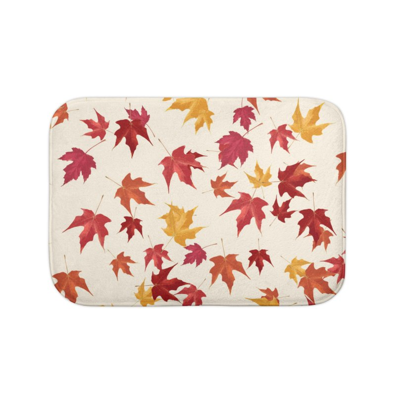 Fall Leaves Home Bath Mat by foxandeagle's Artist Shop