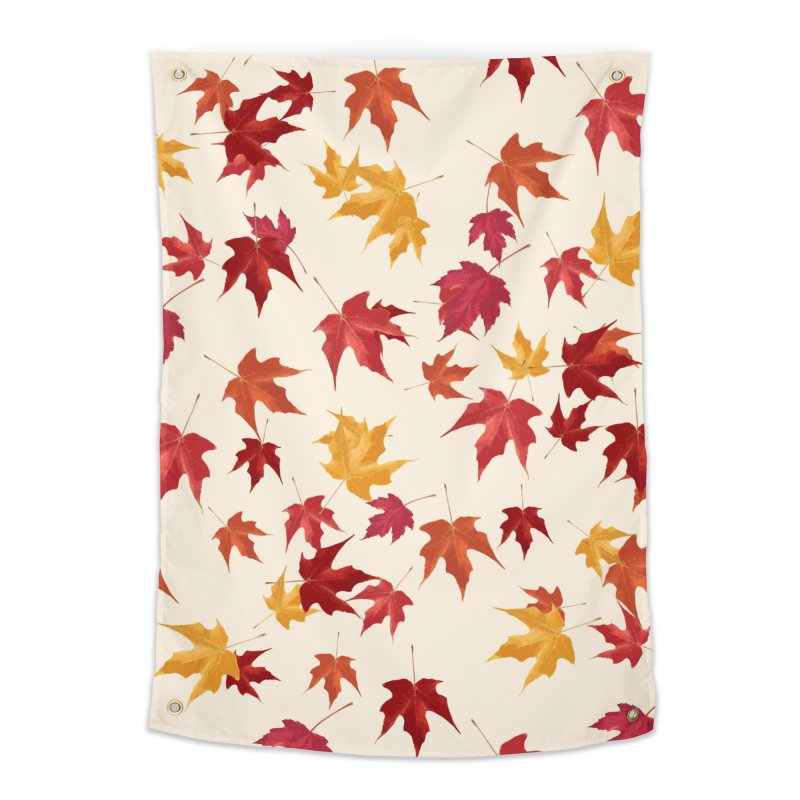 Fall Leaves Home Tapestry by foxandeagle's Artist Shop