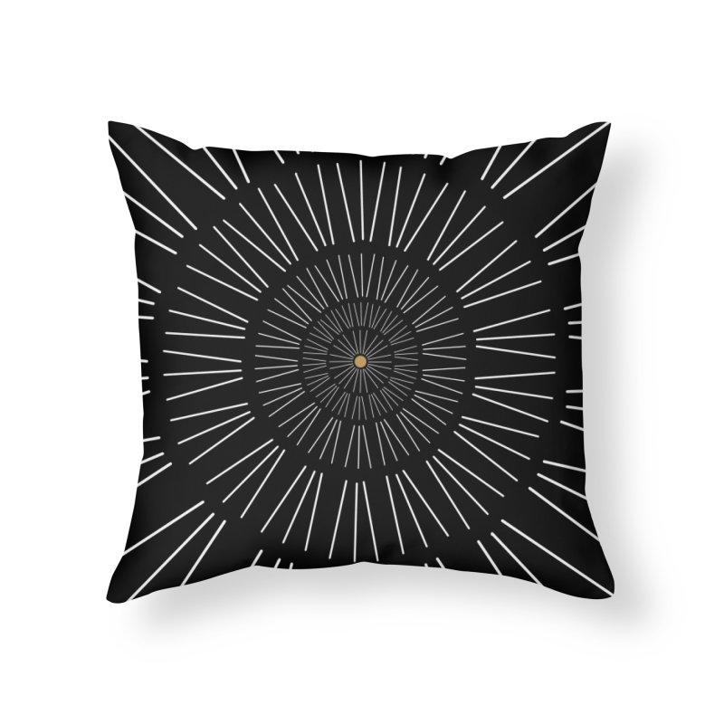 Iris Illustration Home Throw Pillow by foxandeagle's Artist Shop