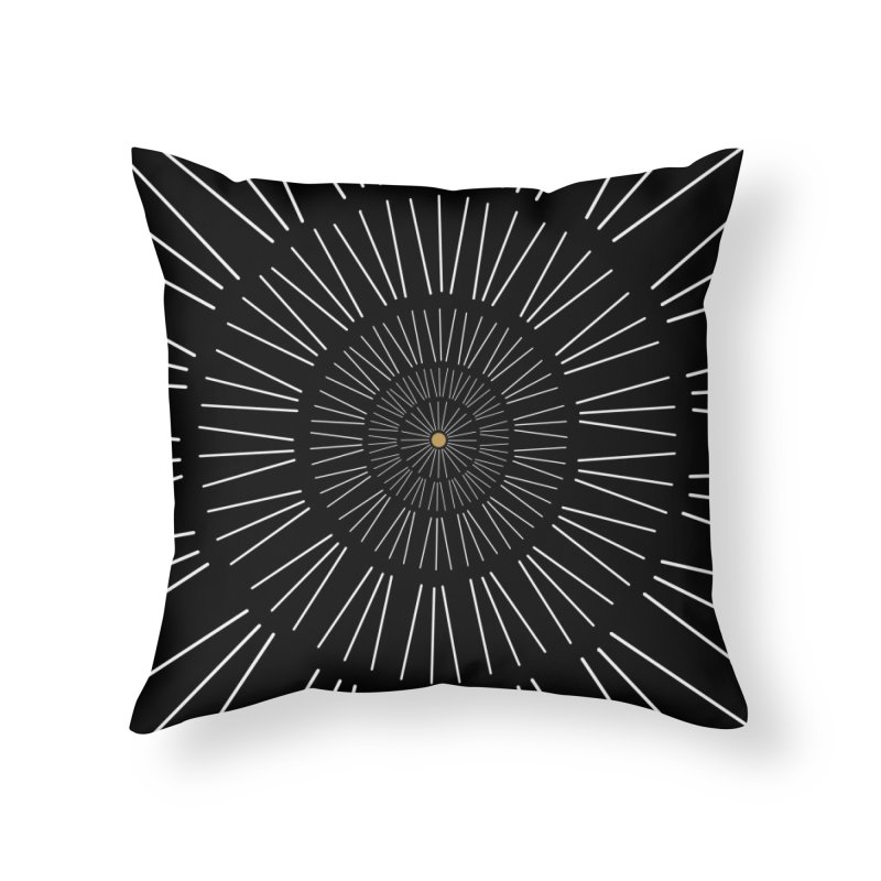 Iris Illustration Home Throw Pillow by foxandeagle's Artist Shop