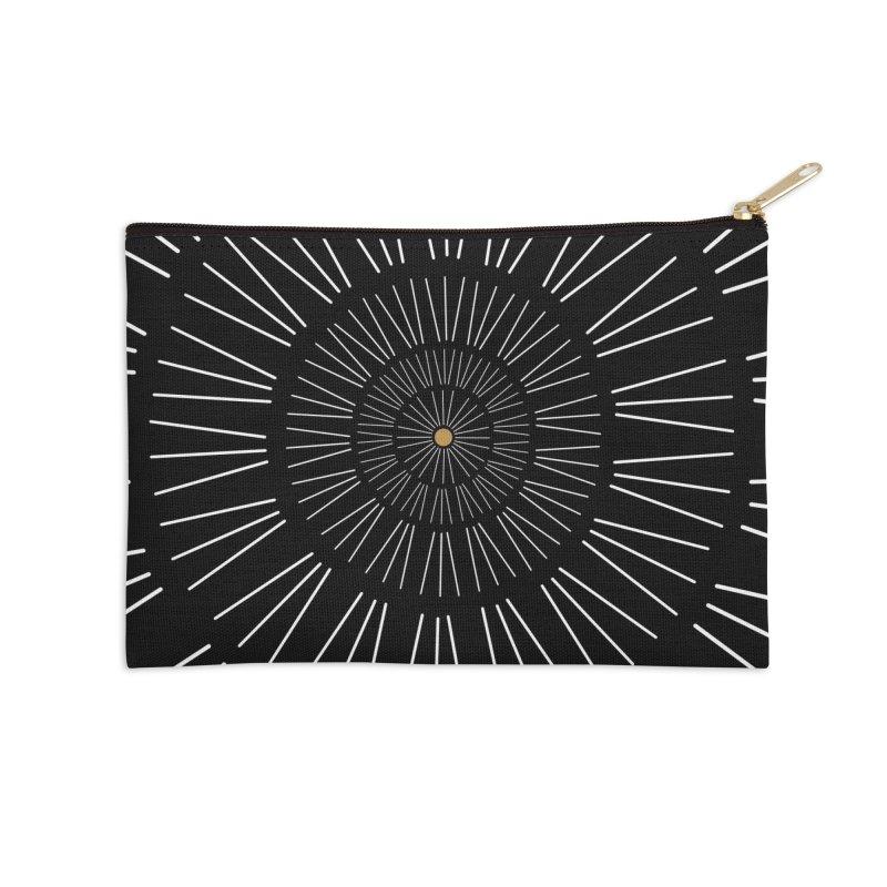 Iris Illustration Accessories Zip Pouch by foxandeagle's Artist Shop