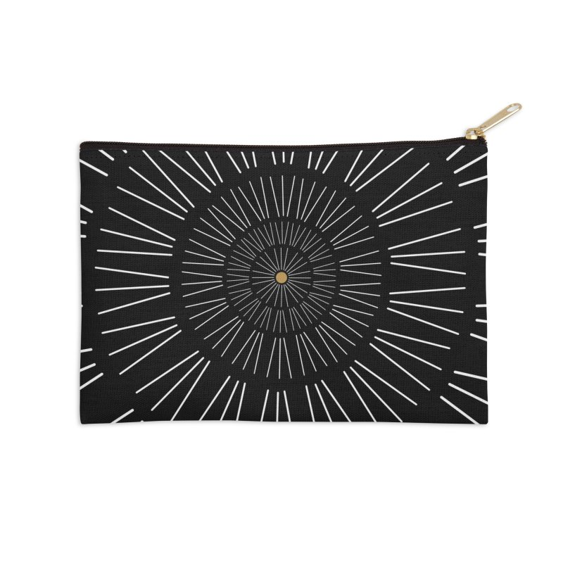 Iris Illustration Accessories Zip Pouch by foxandeagle's Artist Shop