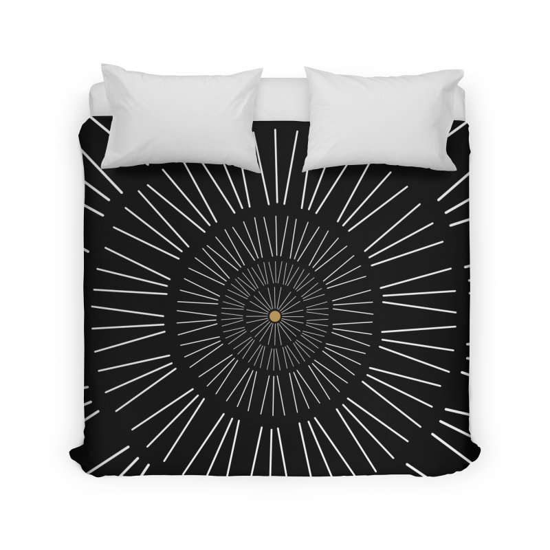 Iris Illustration Home Duvet by foxandeagle's Artist Shop