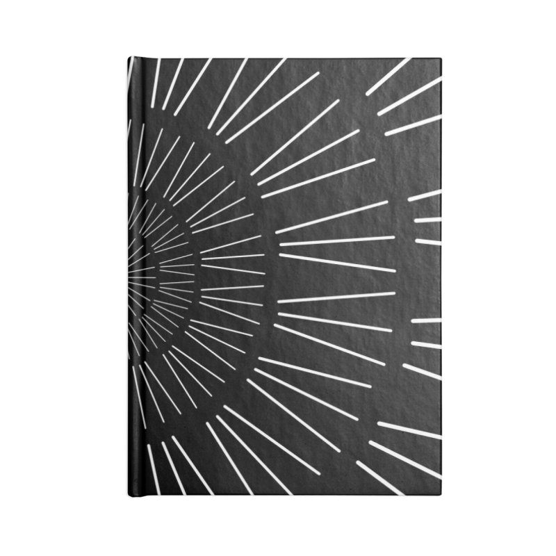 Iris Illustration Accessories Notebook by foxandeagle's Artist Shop