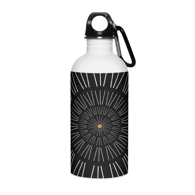 Iris Illustration Accessories Water Bottle by foxandeagle's Artist Shop