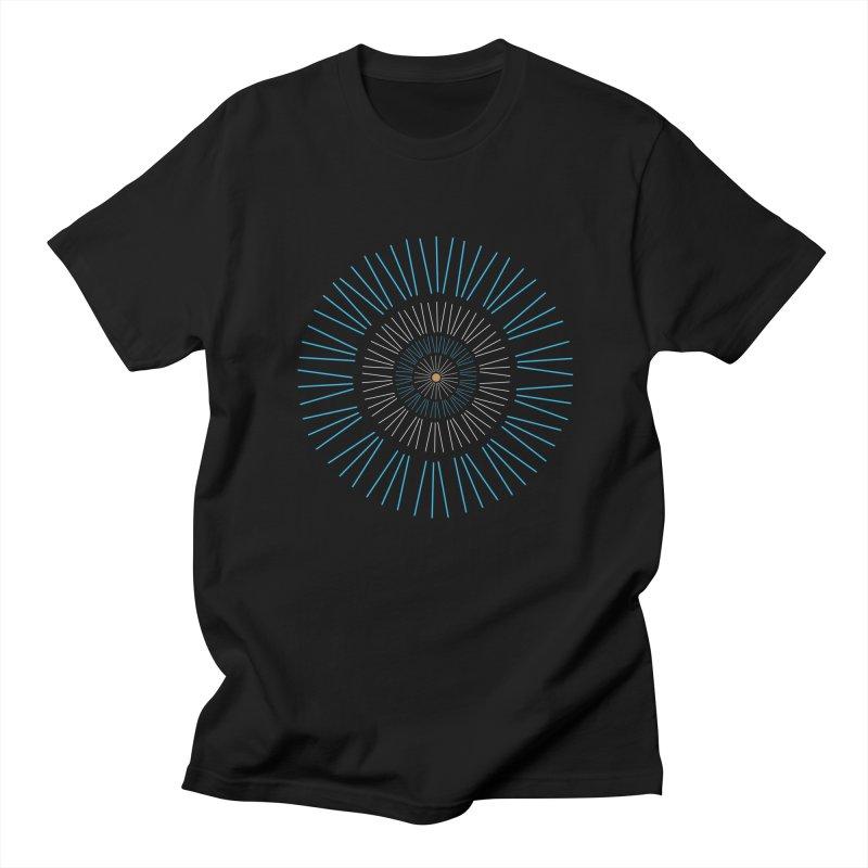 Iris Blue Women's T-Shirt by foxandeagle's Artist Shop