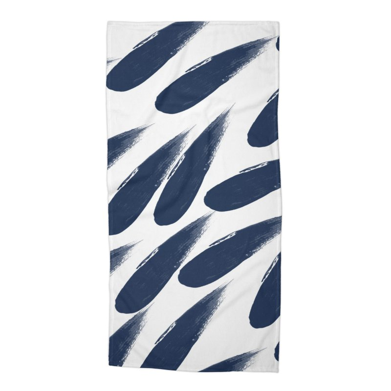Rain Drops Accessories Beach Towel by foxandeagle's Artist Shop