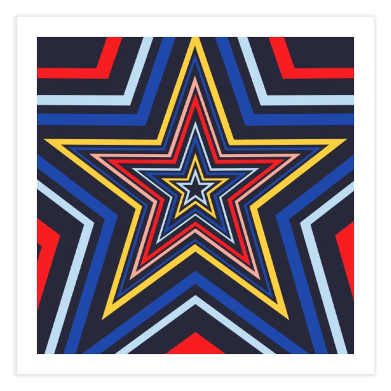 Seeing Stars Home Fine Art Print by foxandeagle's Artist Shop