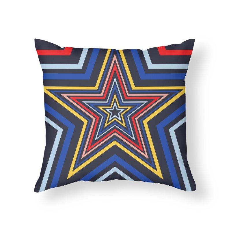 Seeing Stars Home Throw Pillow by foxandeagle's Artist Shop