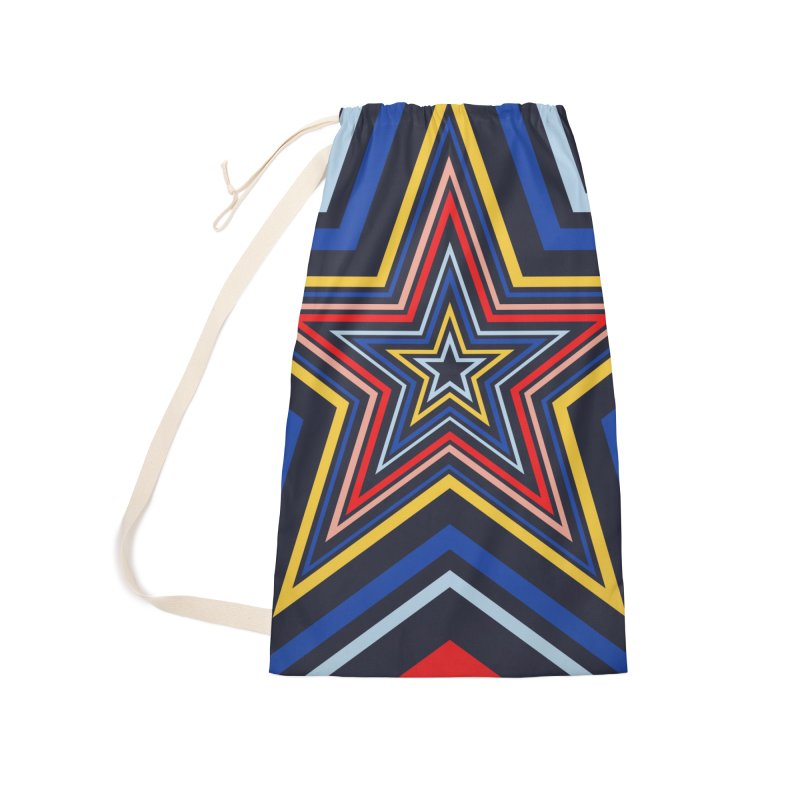Seeing Stars Accessories Laundry Bag Bag by foxandeagle's Artist Shop