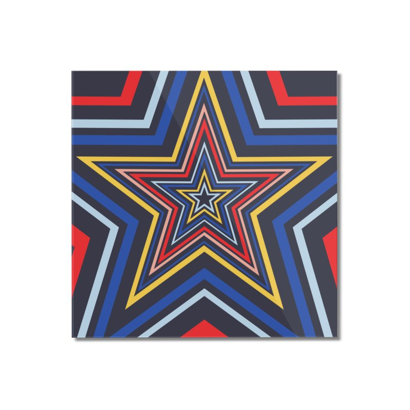 Seeing Stars Home Mounted Acrylic Print by foxandeagle's Artist Shop