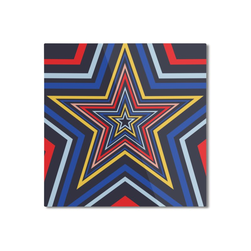 Seeing Stars Home Mounted Aluminum Print by foxandeagle's Artist Shop