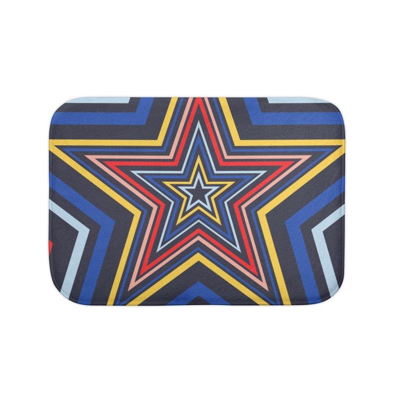 Seeing Stars Home Bath Mat by foxandeagle's Artist Shop