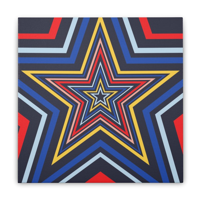 Seeing Stars Home Stretched Canvas by foxandeagle's Artist Shop