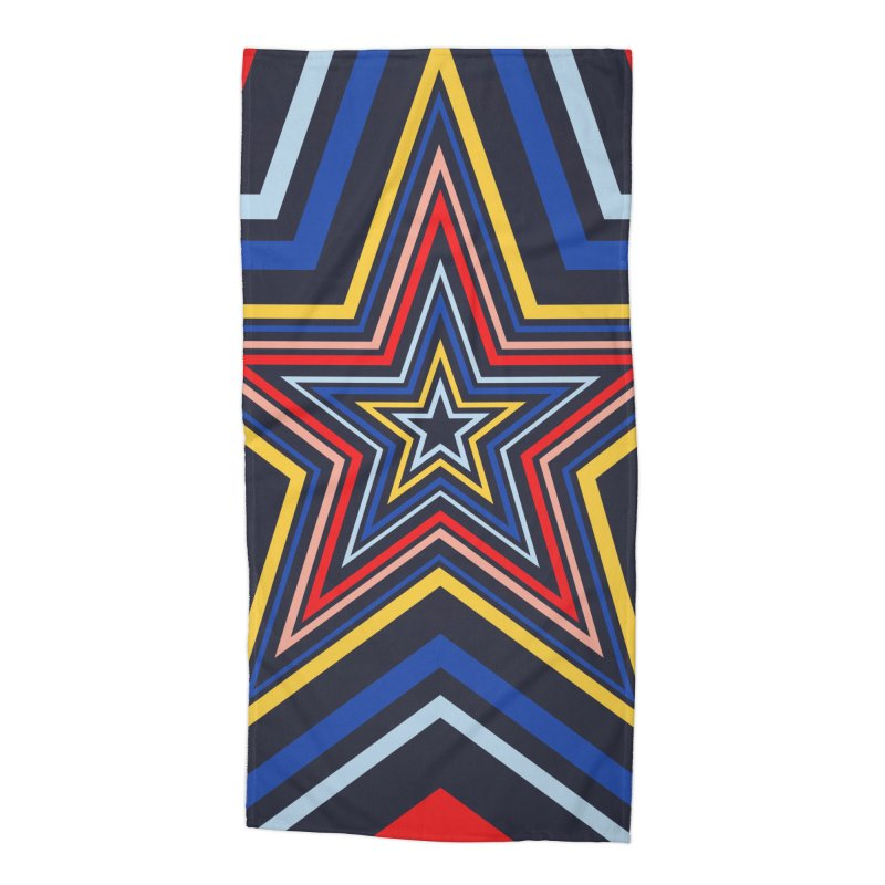 Seeing Stars Accessories Beach Towel by foxandeagle's Artist Shop