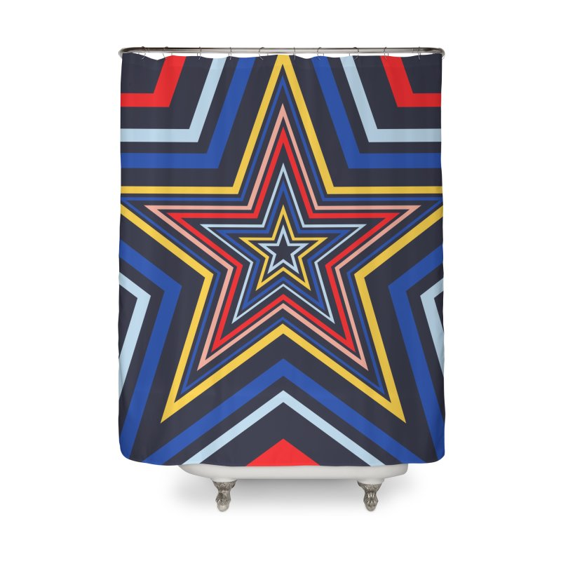 Seeing Stars Home Shower Curtain by foxandeagle's Artist Shop