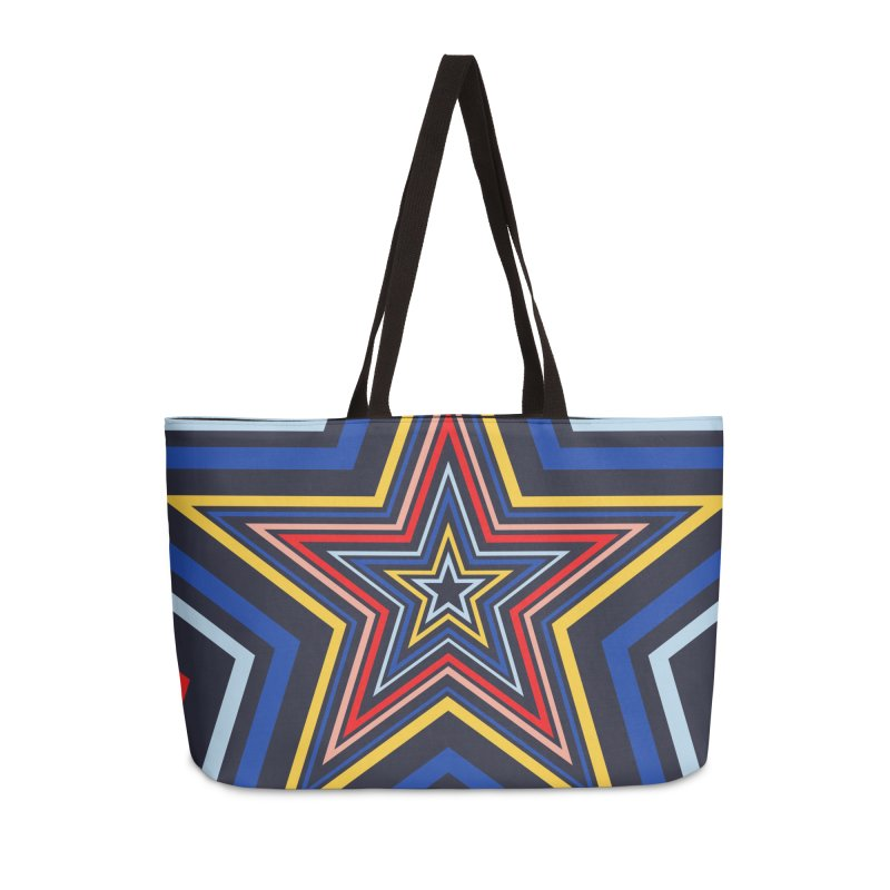 Seeing Stars Accessories Weekender Bag Bag by foxandeagle's Artist Shop