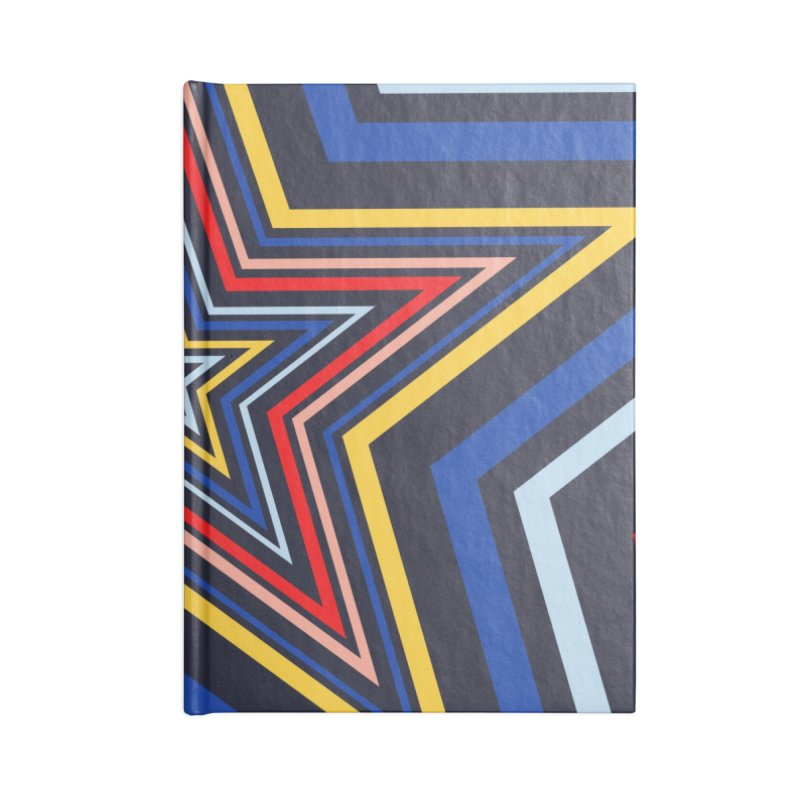 Seeing Stars Accessories Lined Journal Notebook by foxandeagle's Artist Shop